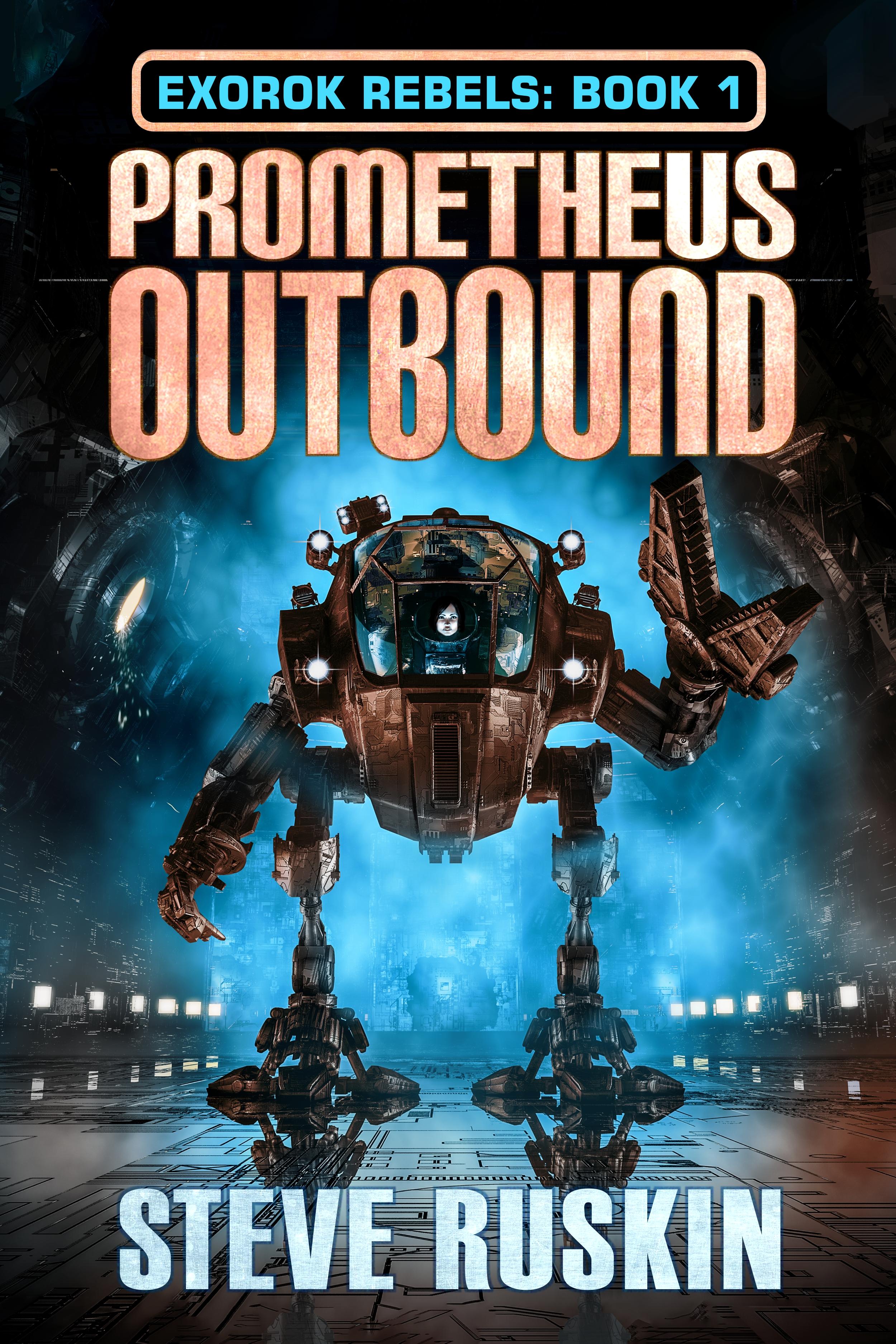 Prometheus Outbound cover design by Corvid Design