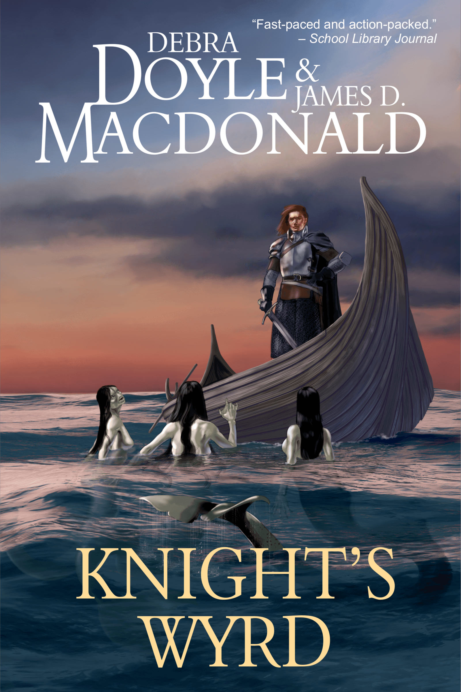 Knight's Wyrd book cover design by Corvid Design