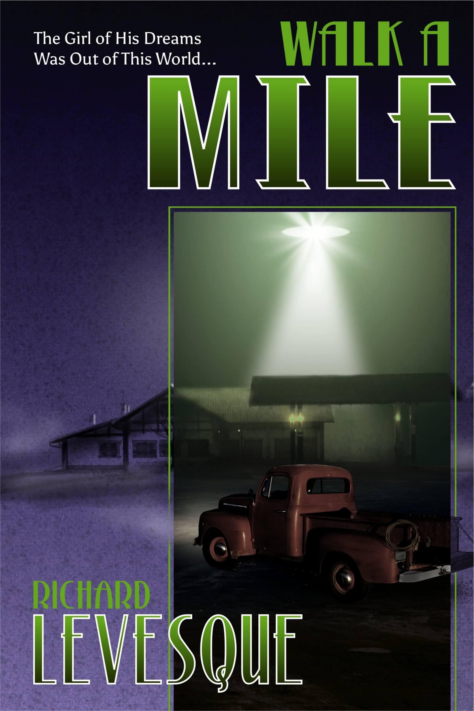 Walk a Mile book cover design by Corvid Design