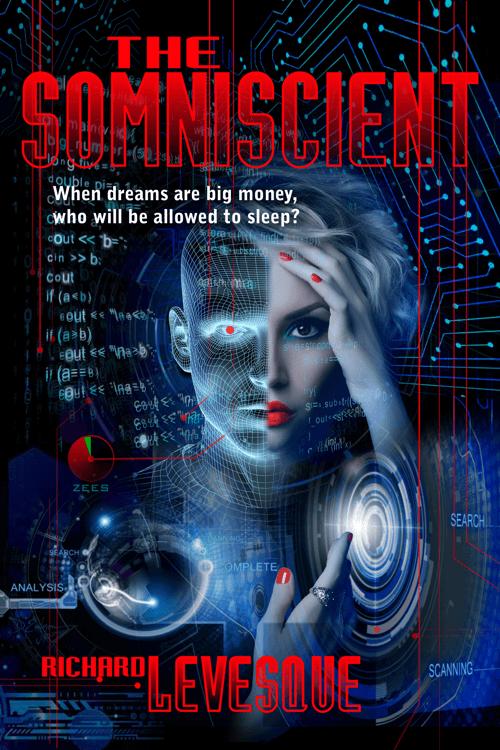 The Somniscient book cover design by Corvid Design