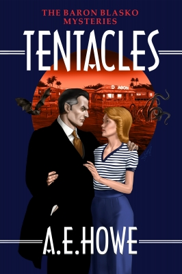 A.E. Howe - Temtacles Book Cover design by Corvid design