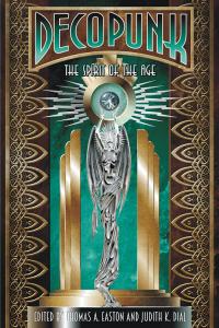 Decopunk Book Cover Design