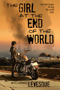 The Girl at the End of the World Book Cover Design