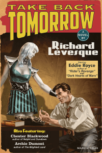 Take Back Tomorrow by Richard Levesque Book Cover Design by Duncan Eagleson
