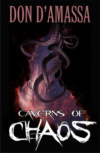 Caverns of Chaos book cover design