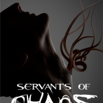 Servants of Chaos book cover design