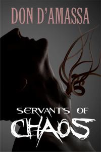 Servants of Chaos book cover design