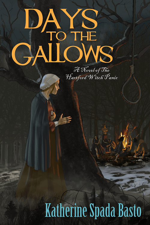 Days to the Gallows book cover design by Corvid Design