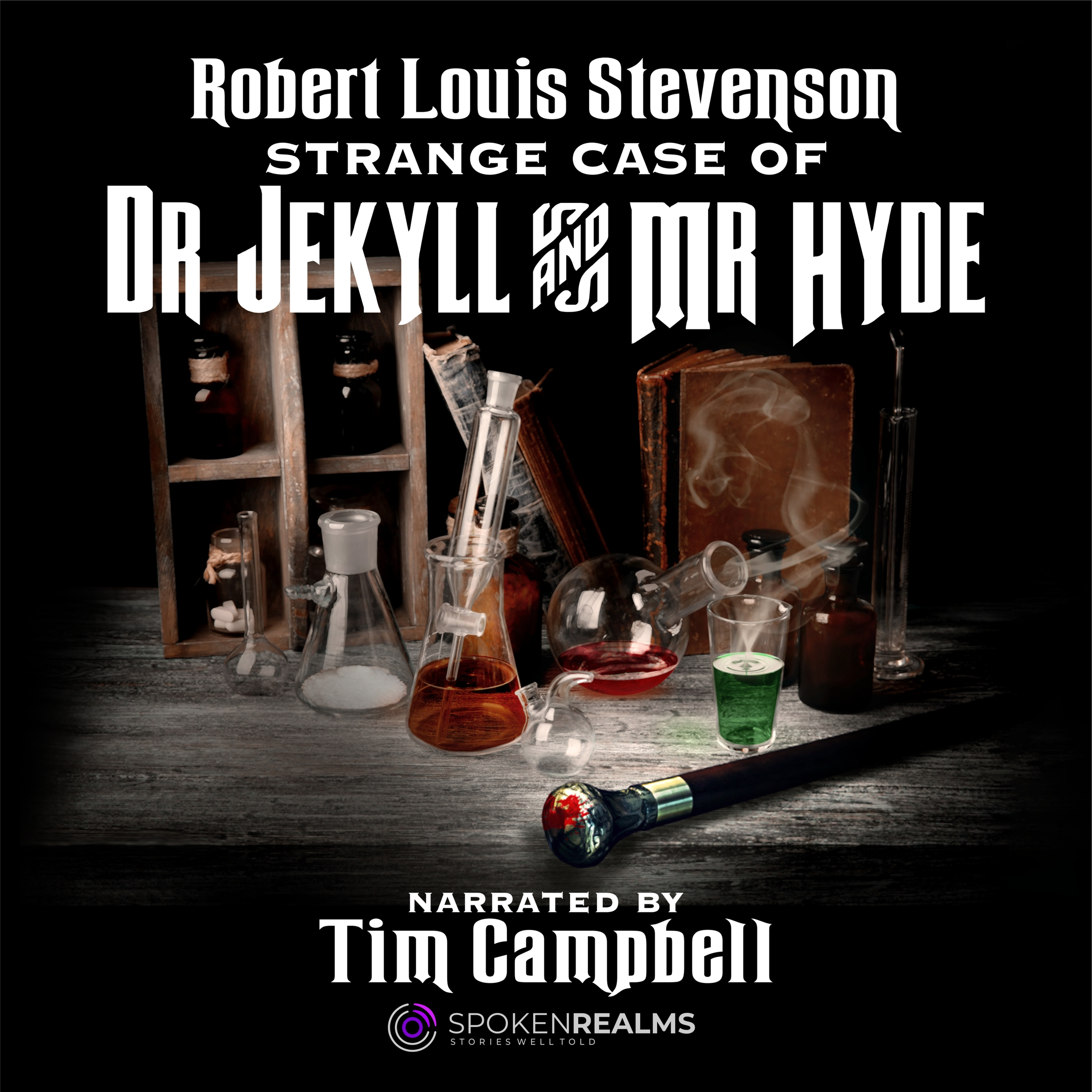 Strange Case of Dr. Jekyll and Mr. Hyde Audio Cover by Corvid Design
