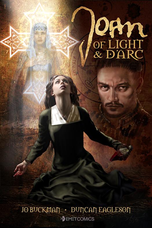 Joan of Light and Dark on Corvid Design