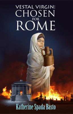 Vestal Virgin Chosen for Rome book cover design by Corvid Design