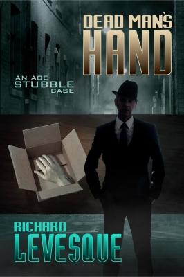 Dead Man's Hand book cover design by Corvid Design