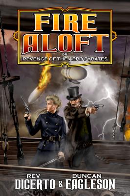 Fire Aloft book cover design by Corvid Design
