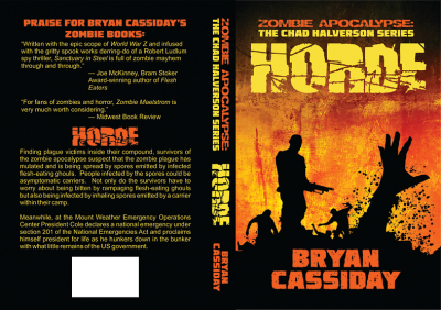 Horde cover design by Corvid Design