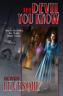 Devil You Know book cover design by Corvid Design